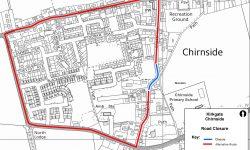 Kirkgate Chirnside road closure plan