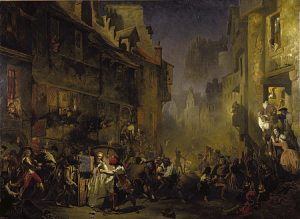 Illustration: The Porteous Mob - National Gallery of Scotland