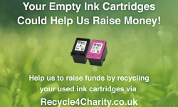 recycle ink jet cartridges graphic